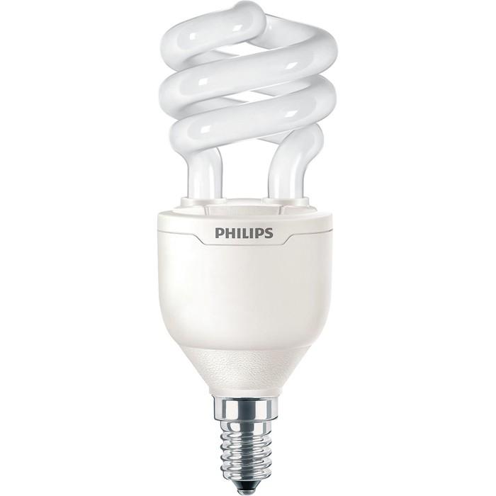 Philips Tornado  Dimmbar Kompaktleuchtstofflampe 8Y T3 13W 827 E14