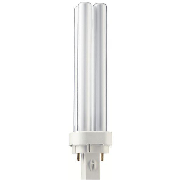 Philips MASTER PL-C 18W Kompaktleuchtstofflampe 830 2P warmweiss