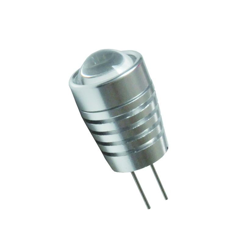LED Stiftsockellampe 1,5W(=10W Halogen) G4 12V konisch mit Linse