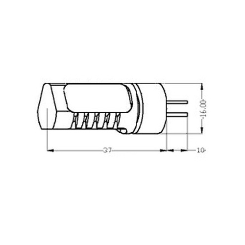 led stiftsockellampe zylinder 3x 1 5w 20w halogen g4 12v cardanlight europe zubeh r leuchtmittel. Black Bedroom Furniture Sets. Home Design Ideas