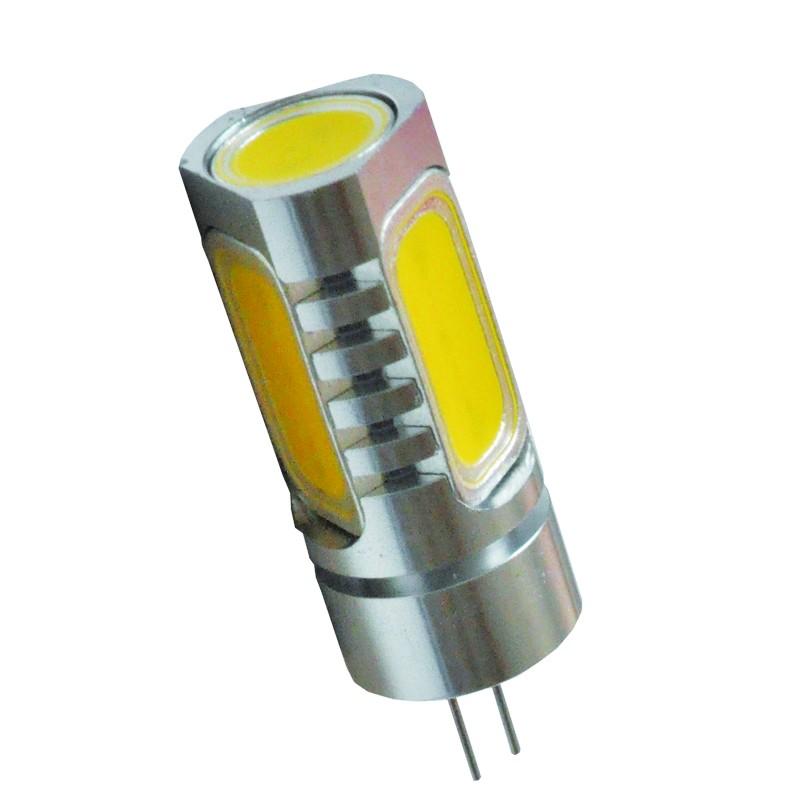 LED Stiftsockellampe Zylinder 4x 1,5W(=20W Halogen) G4 12V