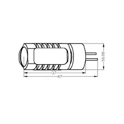 led stiftsockellampe zylinder 4x 1 5w 20w halogen g4 12v cardanlight europe zubeh r leuchtmittel. Black Bedroom Furniture Sets. Home Design Ideas