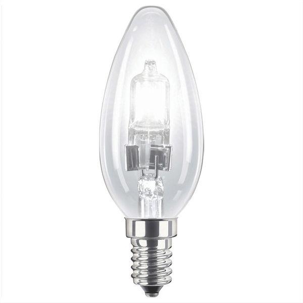 Philips EcoClassic30 42W Halogenlampe 230V E14 B35 klar