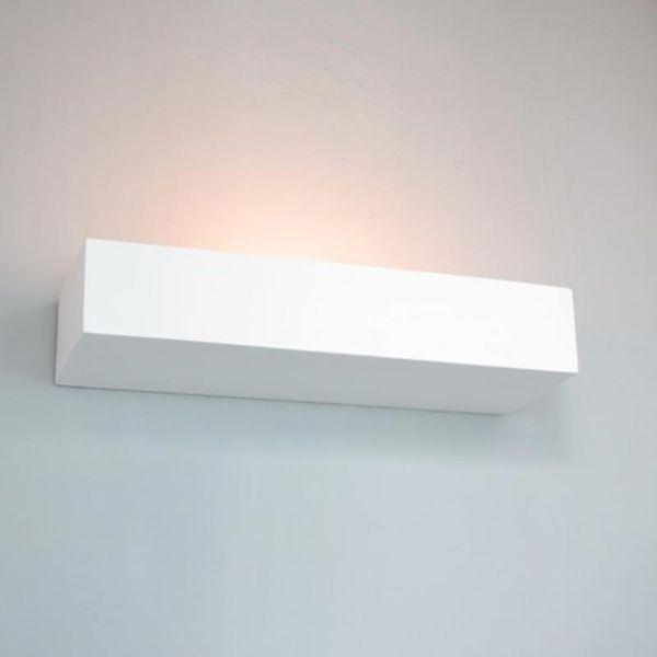 Nielönn GIPS WANDLEUCHTE E14 LED - max. 60W GIPSLAMPE Bild 6