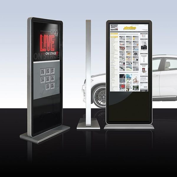 PlentiMedia Stand TouchDisplay Pro 55 Zoll Mega Smart-Phone look Touchscreen Monitor Digital Signage Bild 4