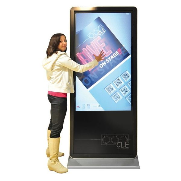 PlentiMedia Stand TouchDisplay Pro 55 Zoll Mega Smart-Phone look Touchscreen Monitor Digital Signage Bild 2