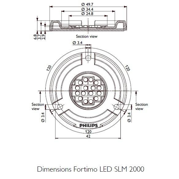 Philips FORTIMO LED SLM Spotlight MODUL 1500lm 19W 840 -*R – Bild 3