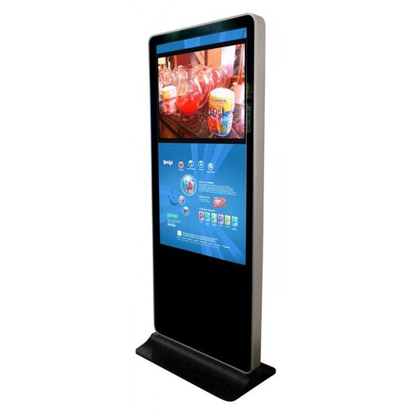 PlentiMedia 42 Zoll LCD Kiosk Stand-Display Media Player Netzwerkversion Digital Signage