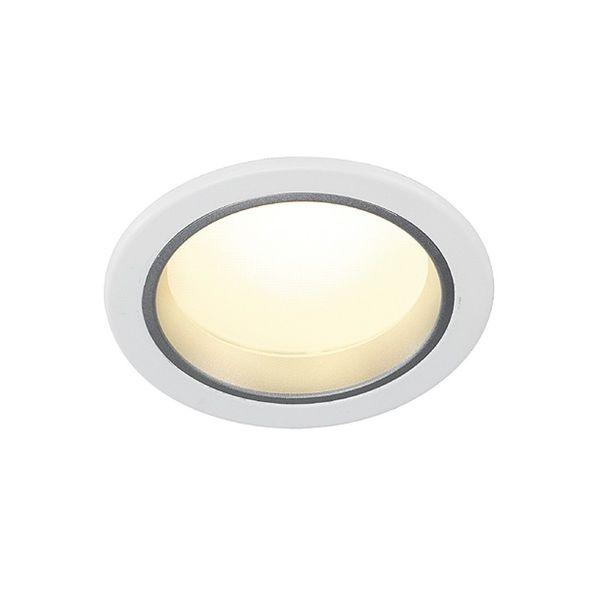 SLV LED Downlight 14/3, rund, weiss, 14 LED, 3000K