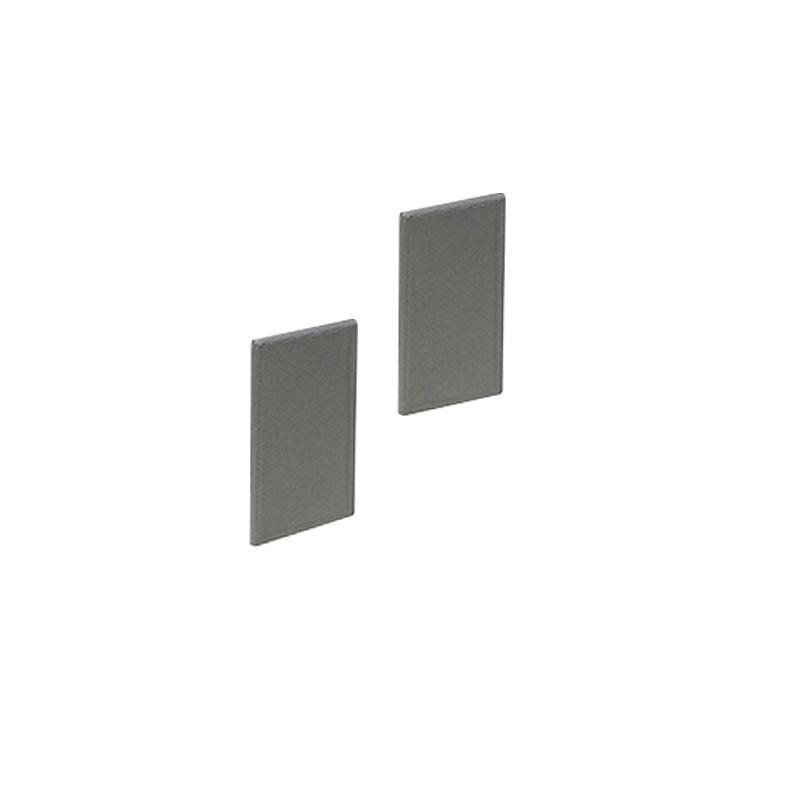 SLV Endkappen für LED Wandprofil up/down, 2 Stück