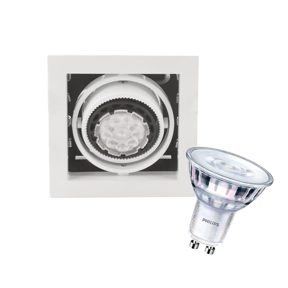 CLE Kardan LED Einbauleuchte YK1-HV LEDspot 5W 230V weiss