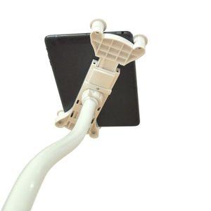 Boden Desktop Ständer Halter Halterung iPad Tablet PC Standfuss bis 15 Zoll sw.