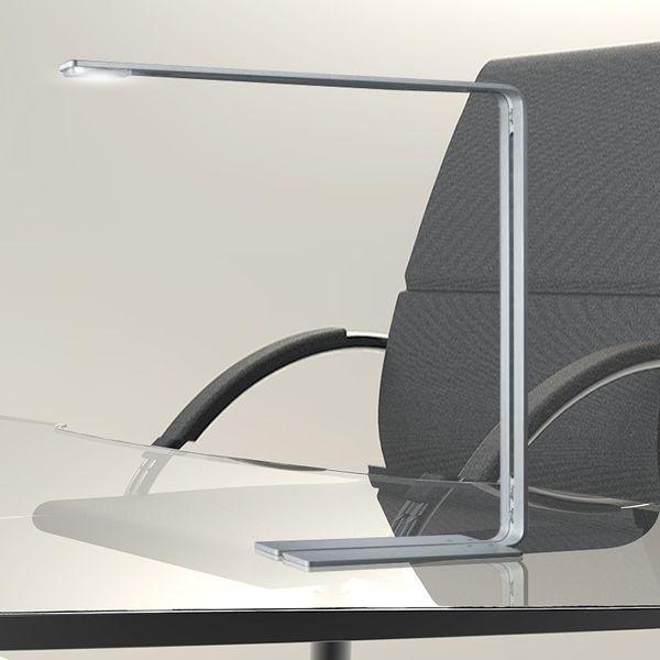 Gaga Lamp Design Tischleuchte IX LED 5W 6470K alu gebürstet