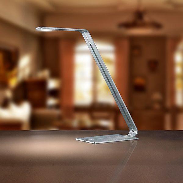 Gaga Lamp Design Tischleuchte X LED 5W 6470K alu gebürstet