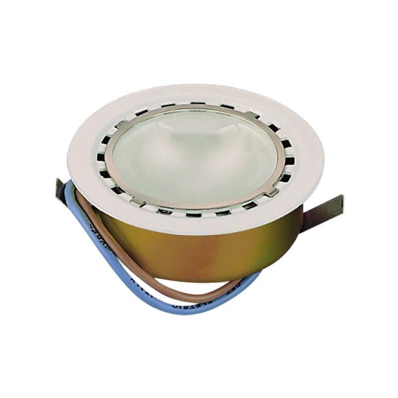 CLE Möbeleinbauleuchte LED 1x 1W inkl. Trafo 3000K weiss