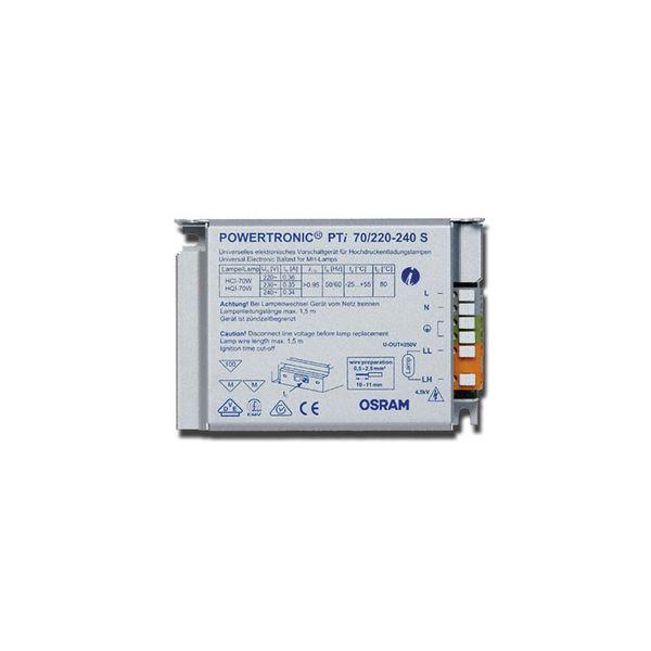 Osram Powertronic EVG Vorschaltgerät 70W GEBRAUCHT CDM-TD/HQI-T/TS /HCI L.M.