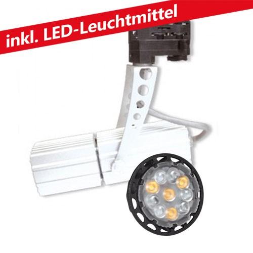 CLE LED 6W Stromschienenleuchte 12V MR16 Standard Spot 1 weiss