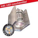 CLE ALUTEC Master Power LED 6W Wandleuchte 230V alu