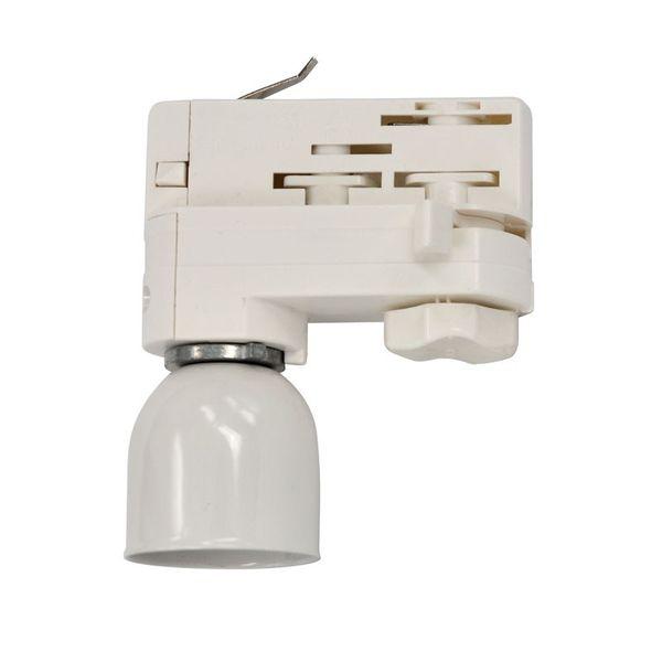 CLE Stromschienen LED Wegeleuchte max. 10W LED GU10 230V weiss