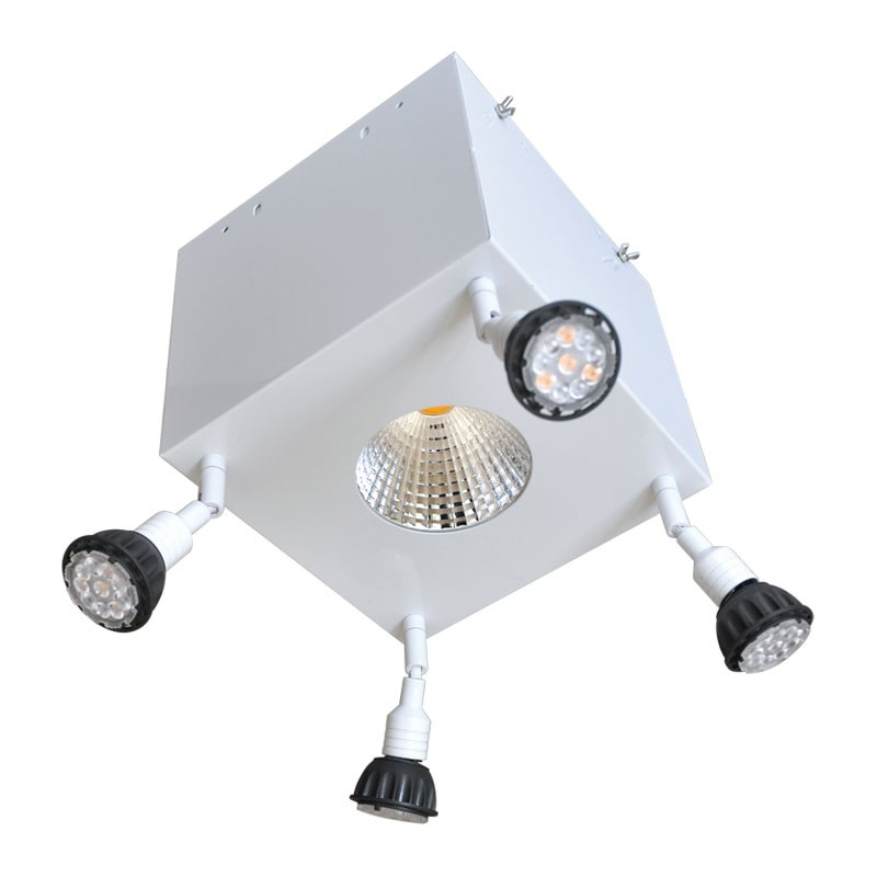 CLE LED Strahler Focus für 4000lm Philips Fortimo SLM weiss