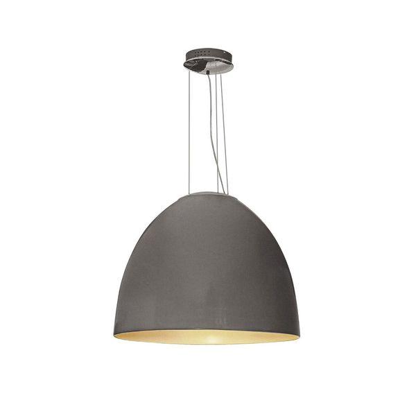 GaGa Lamp Design LED Mega Pendelleuchte Silbergrau Durchmesser 90cm Fernbedienung