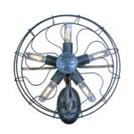 GaGa Lamp Steam-Punk Design Retro Wandleuchte Airpower No.5