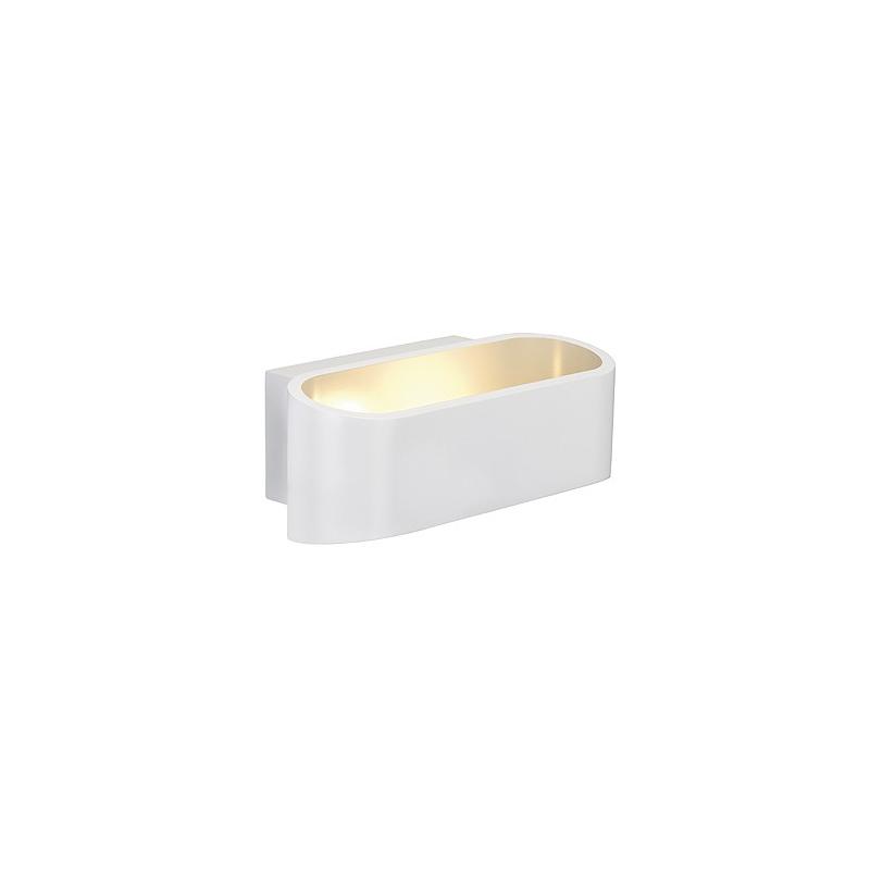 SLV ASSO LED Wandleuchte, oval, weiss, 5W LED, 3000K