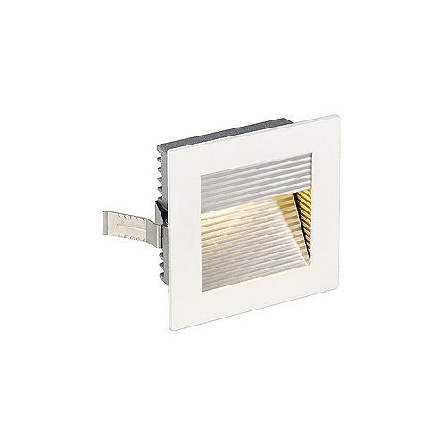 SLV FRAME CURVE LED Einbauleuchte, eckig, mattweiss, neutral- weisse LED