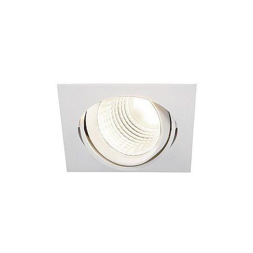 SLV NEW TRIA DLMI SQUARE Down- light, mattweiss, 4000K, 60°