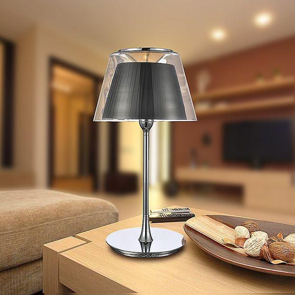 GaGa Lamp Design KOWLOON Tischleuchte Schwarz 60W E27