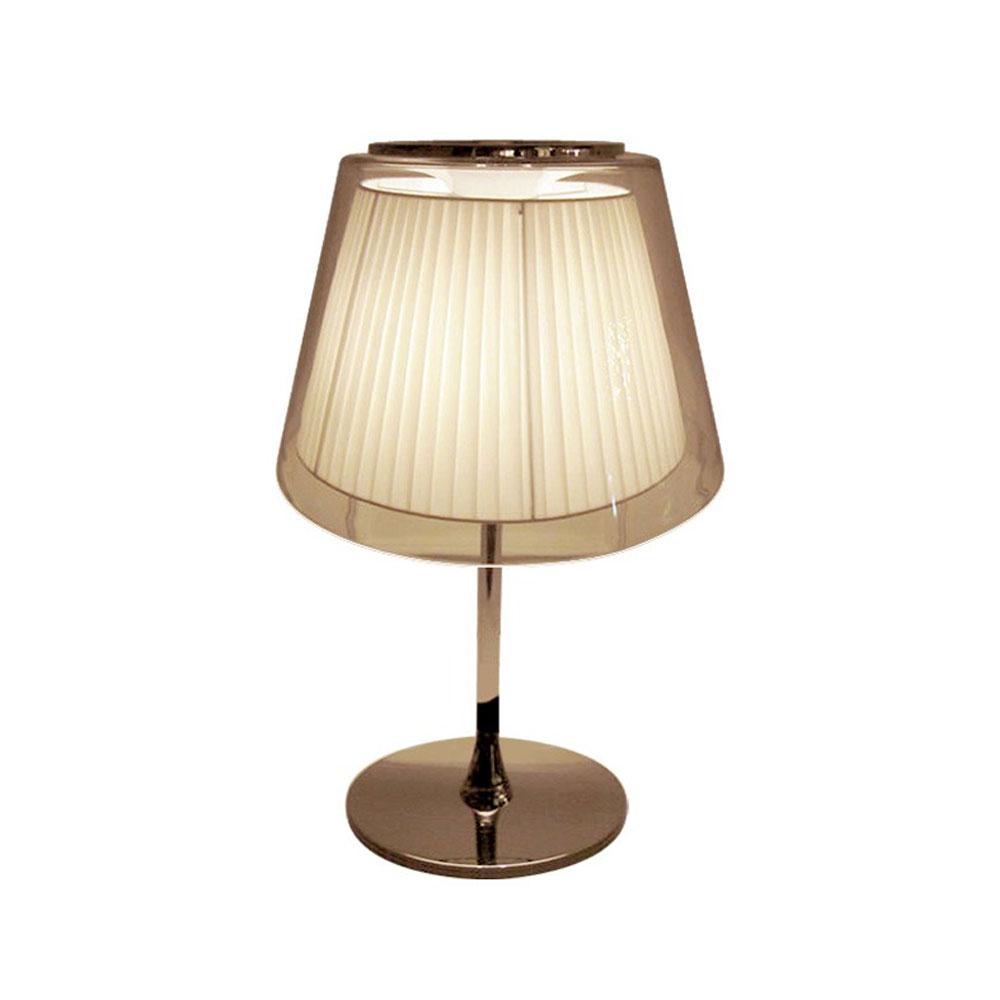 GaGa Lamp Design KOWLOON Tischleuchte Weiß 60W E27