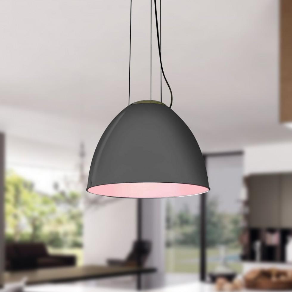 GaGa Lamp Design Mega Pendelleuchte L Grau 60W E27