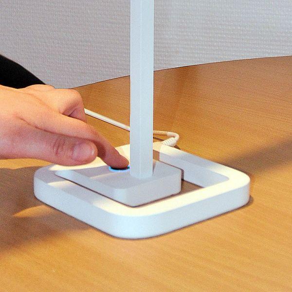 Gaga Lamp Design TSING YI Tischleuchte weiß 18 x 0,3W LED Bild 4
