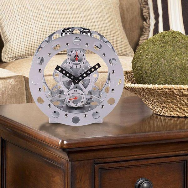 Gagatime Bell Alarm Gear Clock Tischuhr Bild 2