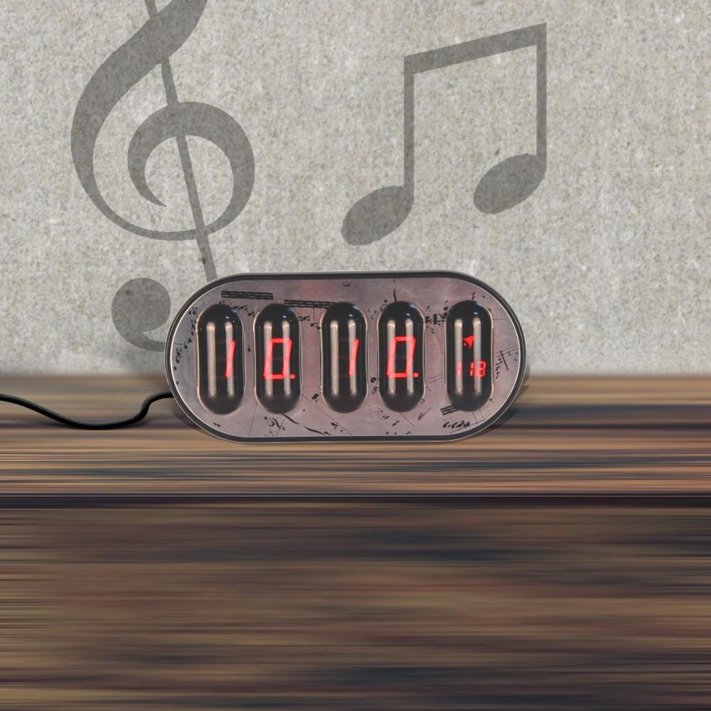 Gagatime Piano Clock Tischuhr