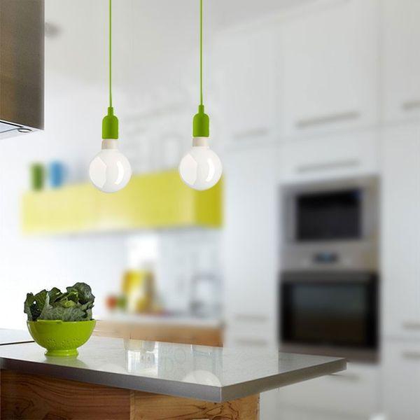 GaGa Lamp Design Colour Pendelleuchte Grün max. 60W E27