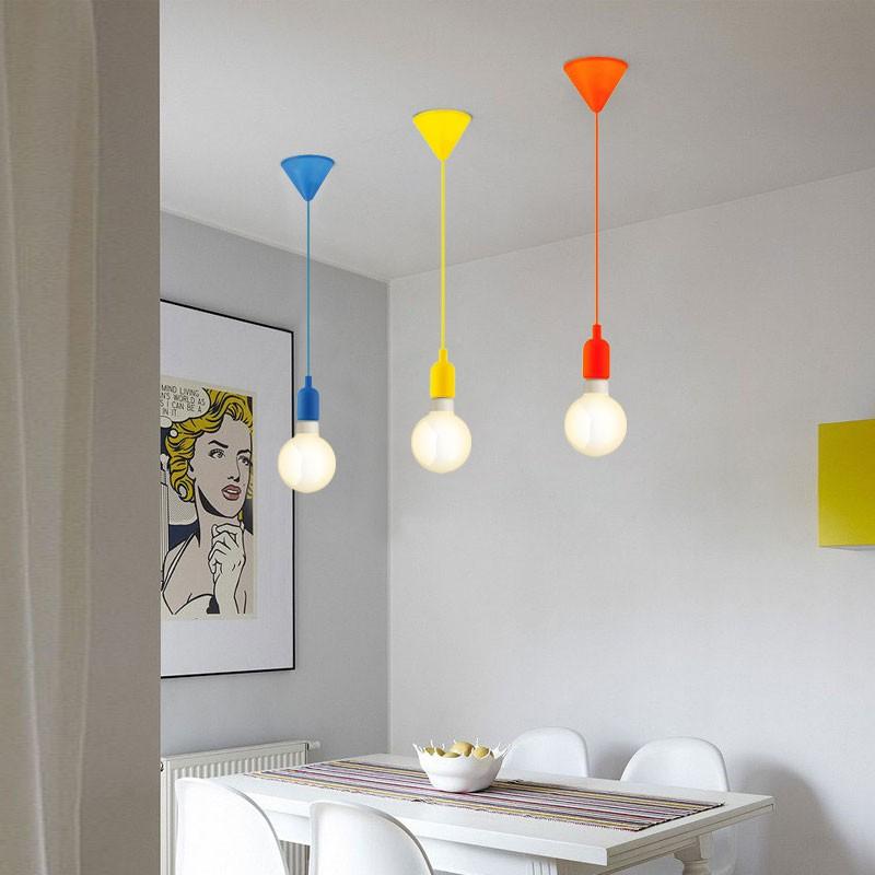 GaGa Lamp Design Colour Pendelleuchte Blau max. 60W E27