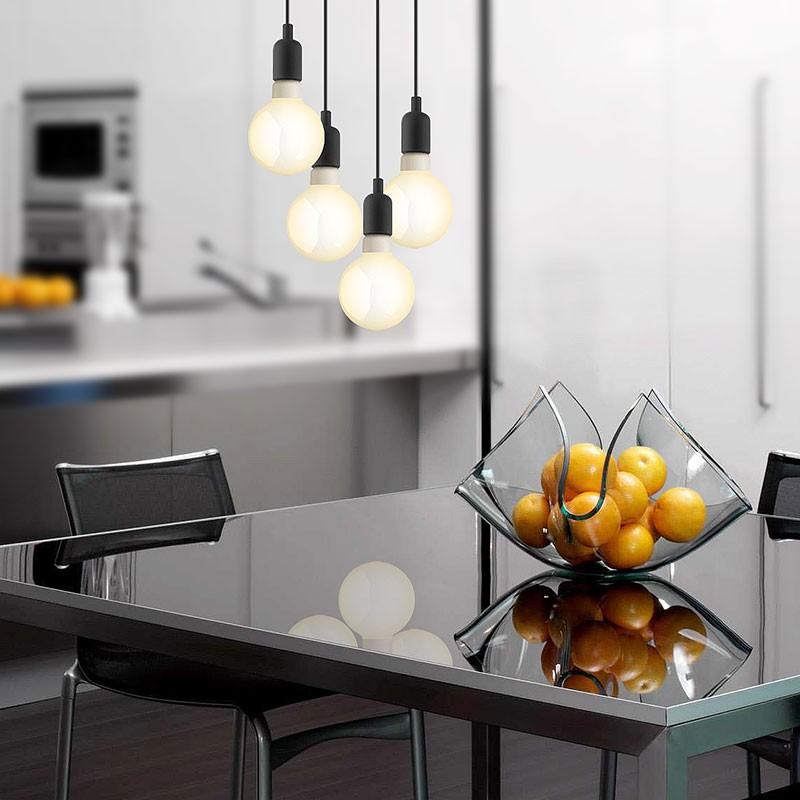 GaGa Lamp Design Colour Pendelleuchte Schwarz max. 60W E27