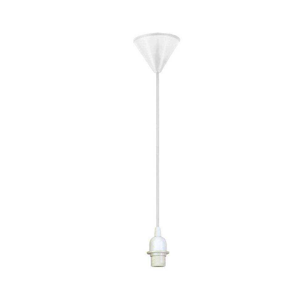 GaGa Lamp Design Colour Pendelleuchte Weiß mit Ring max. 60W E27