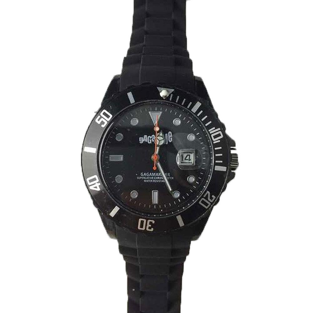 Gagatime Gagamariner Armbanduhr Schwarz Gagawatch
