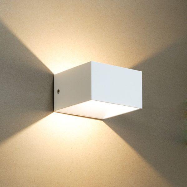 Gaga Lamp LED Wandleuchte YK Cube I XL 5W LED warmweiß 230V weiß Bild 3