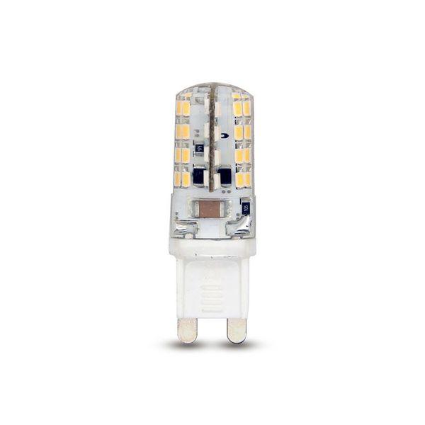10 Stück CLE LED Stiftsockellampe 3W G9 230V neutralweiß neu
