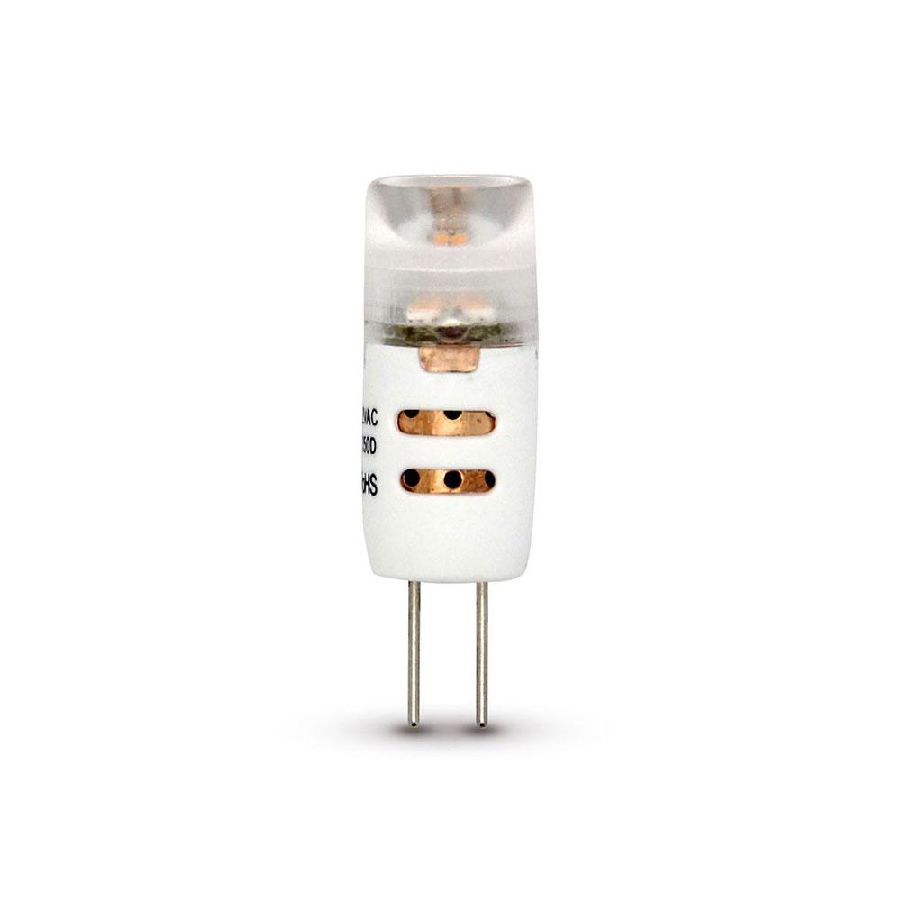 10 Stück CLE LED Stiftsockellampe 1,5W(=10W Halogen) G4 12V warmweiß