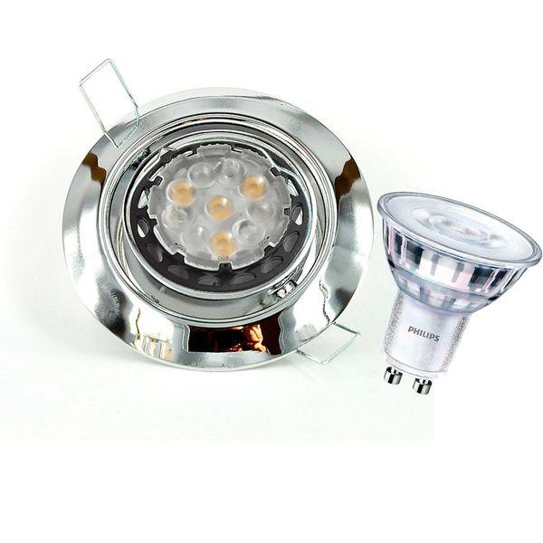 CLE LED Downlight Einbauleuchte 3830 5W chrom Hochvolt