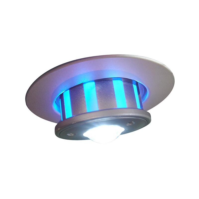 CLE X1 Einbauleuchte GU10 alu grau für LED Einsatz COPB0001