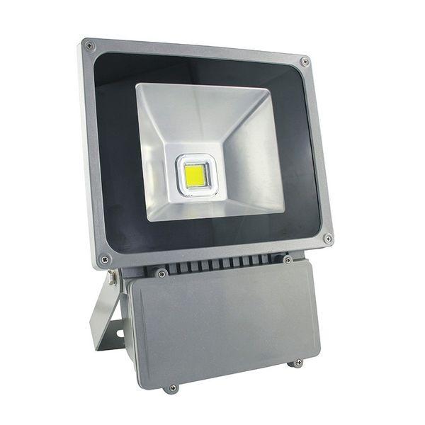 CLE LED Flutlichtstrahler alugrau 70W 4000K neutralweiß