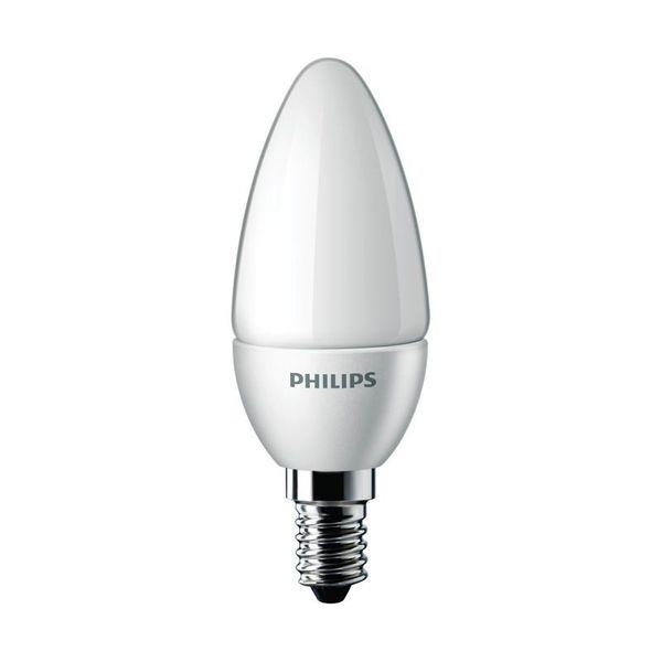 Philips CorePro LEDcandle  5,5 Ersatz für 40W Glühlampe 827 E14 B35 matt