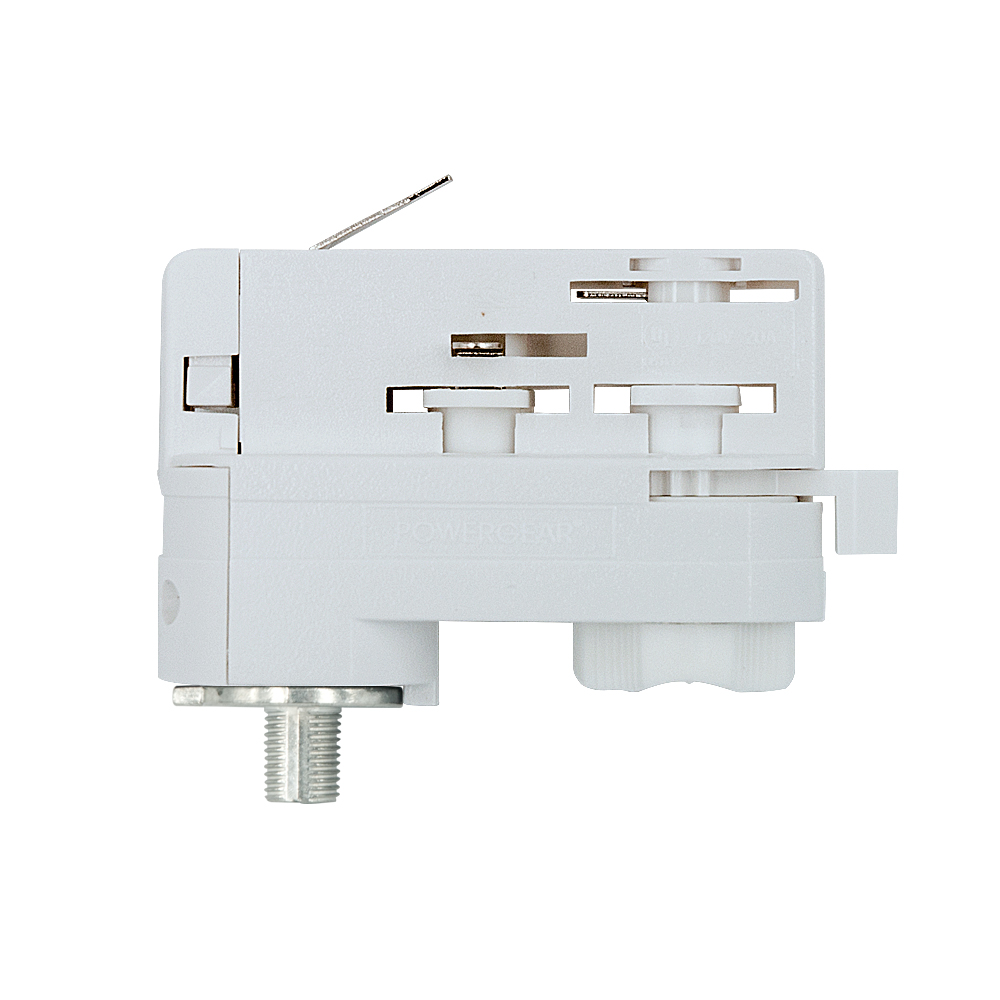 UNI 3Ph Stromschienenadapter Adapter weiss Staff Erco SLV Eutrac Hoffmeister Global Adapter