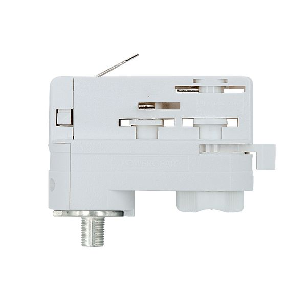 UNI 3Ph Stromschienenadapter Adapter weiss Staff Erco SLV Eutrac Hoffmeister Global Adapter  – Bild 1