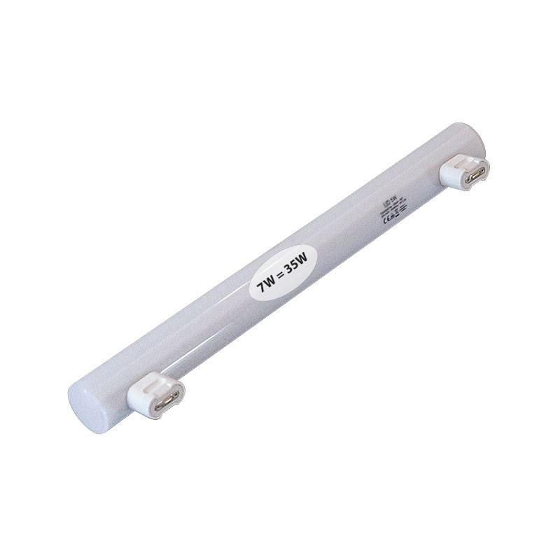 CLE LED Linienlampe 7W Linestra ( 35W ) 2-Sockel 300mm S14s 2700K